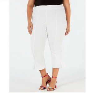 INC 28W White Regular Fit Pants NWT CE47